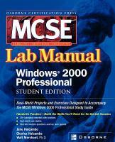 Cover image for MCSE Windows 2000 professional lab manual