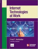 Cover image for Internet technologies at work