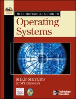 Cover image for Mike Meyers' A+ guide to operating systems