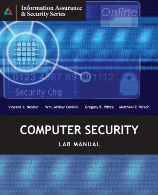 Cover image for Computer security lab manual