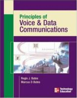 Cover image for Principles of voice & data communications