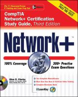 Cover image for Network+ certification study guide