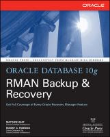 Cover image for Oracle Database 10g RMAN backup & recovery