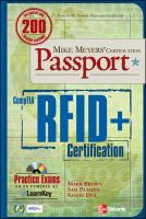 Cover image for Mike meyers' certification passport ; comptia RFID+