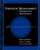 Cover image for Strategic management of technology and innovation