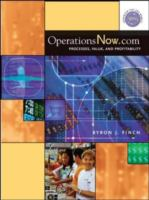 Cover image for OperationsNow.com : process, value and profitability