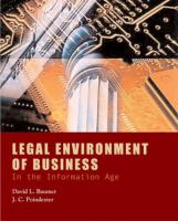 Cover image for Legal environment of business in the information age