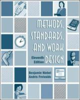 Cover image for Methods, standards, and work design