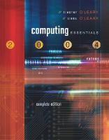 Cover image for Computing essentials 2004