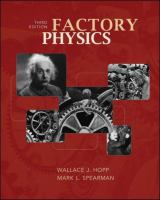 Cover image for Factory physics