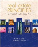 Cover image for Real estate principles : a value approach