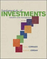 Cover image for Fundamentals of investments : valuation and management