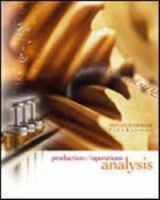Cover image for Production and operations analysis