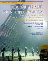Cover image for Terrorism and counterterrorism : understanding the new security environment, readings and interpretations