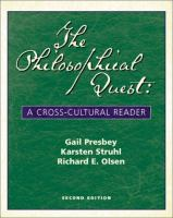 Cover image for The philosophical quest : a cross-cultural reader