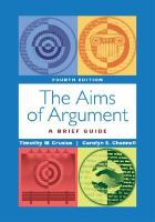 Cover image for The aims of argument : a brief guide