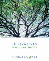 Cover image for Derivatives : principles and practice