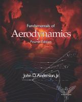 Cover image for Fundamentals of aerodynamics