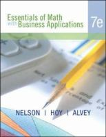 Cover image for Essentials of math with business applications
