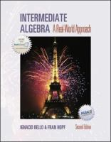 Cover image for Intermediate algebra : a real-world approach