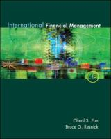 Cover image for International financial management