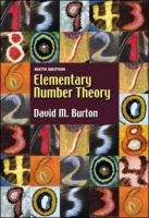 Cover image for Elementary number theory
