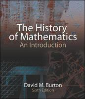 Cover image for The history of mathematics : an introduction