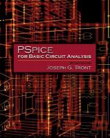 Cover image for Pspice for basic circuit analysis / Joseph G. Tront