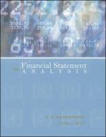 Cover image for Financial statement analysis