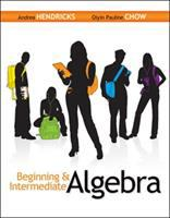 Cover image for Beginning and intermediate algebra