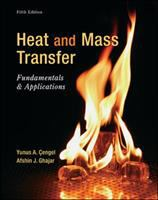 Cover image for Heat and mass transfer : fundamentals and applications