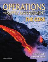 Cover image for Operations and supply management : the core