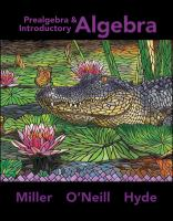 Cover image for Prealgebra and introductory algebra