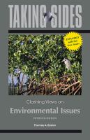 Cover image for Taking sides. Clashing views on environmental issues