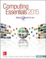 Cover image for Computing essentials 2015 : making IT work for you