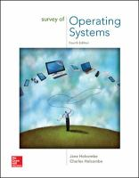 Cover image for Survey of operating systems
