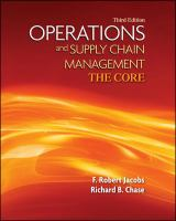 Cover image for Operations and supply chain management: the core