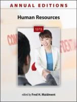Cover image for Human resources 12/13