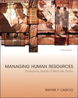 Cover image for Managing human resources : productivity, quality of work life, profits