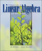 Cover image for Introduction to linear algebra with applications