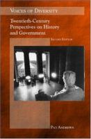 Cover image for Voices of diversity : twentieth-century perspectives on history and government