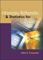Cover image for Introductory mathematics and statistics for business