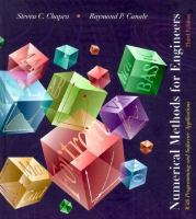 Cover image for Numerical methods for engineers : with programming and software applications : supplementary problems booklet