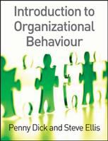Cover image for Introduction to organizational behaviour