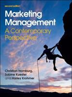 Cover image for Marketing management : a contemporary perspective