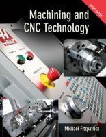 Cover image for Machining and CNC technology
