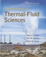 Cover image for Fundamentals of thermal-fluidsciences