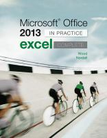 Cover image for Microsoft Office Excel 2013 complete : in practice