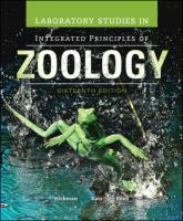 Cover image for Laboratory studies in integrated principles of zoology