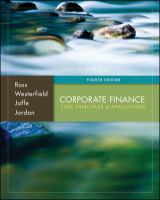 Cover image for Corporate finance : core principles & applications
